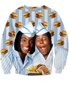 Women men 3D Pull Fashion Clothing Good Burger Crewneck Sweatshirt Sweats Kel Mitchell and his wife Sweatshirts Jumper Moletons