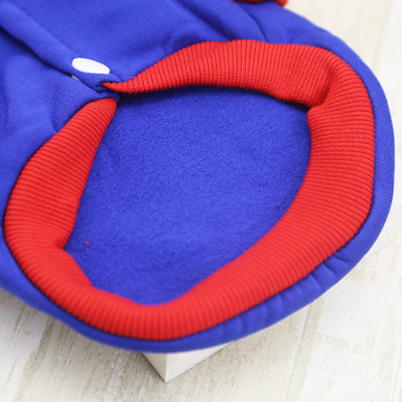T Hot Pets Dog Hoodies Puppy Fleece Coats Jacket for Chihuahua Maltese Cat Costume Dogs Clothes Ropa Para Perros XS XXL Clothing in Dog Hoodies from Home Garden