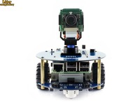 AlphaBot2 robot building kit: 2018 new original Raspberry Pi 3 Model B+,RPi Camera (B)+Micro SD Card card+15 Acc