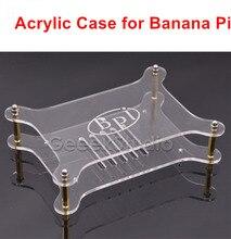 Прозрачный Акриловый чехол прозрачный корпус для банан Pi M1 BPI-M2 M3 M1 +
