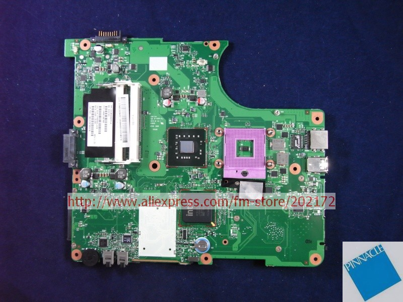 V000138700 Motherboard for Toshiba Satellite L300 L305 6050A2264901 nokotion sps v000198120 for toshiba satellite a500 a505 motherboard intel gm45 ddr2 6050a2323101 mb a01