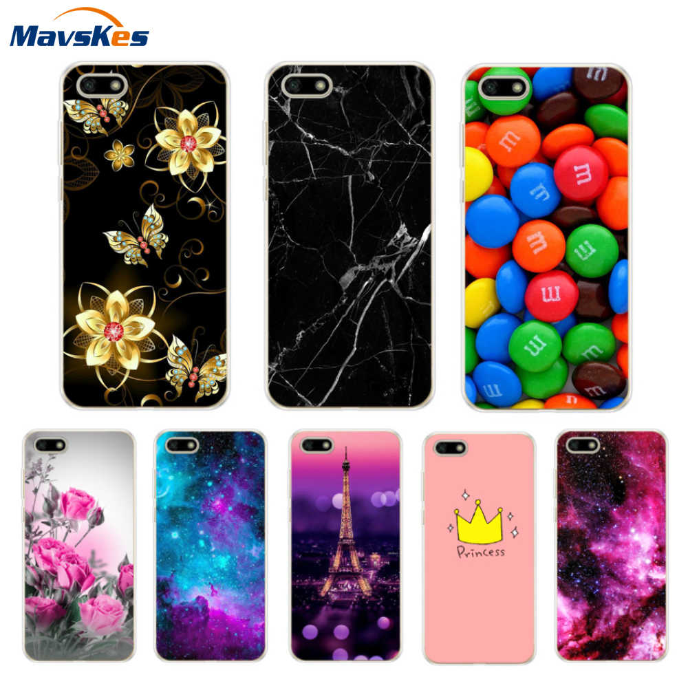 "honor 7A Case on for Fundas Huawei Honor 7A DUA-L22 Case 5.45""inch Soft TPU Back Cover sFor Huawei Honor7A 7 A Phone Cases shell"