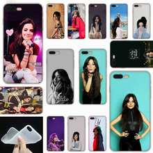 Sheli Camila Cabello Frosted Lembut Transparan Penutup Case untuk iPhone X XS XR Max SE 5 5 S 6 6 S 7 8 PLUS(China)