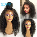 Brazilian Afro Kinky Curly Human Hair Wigs Glueless Full Lace Human Hair Wigs & Lace Front Wigs Kinky Curly Virgin Hair Lace Wig