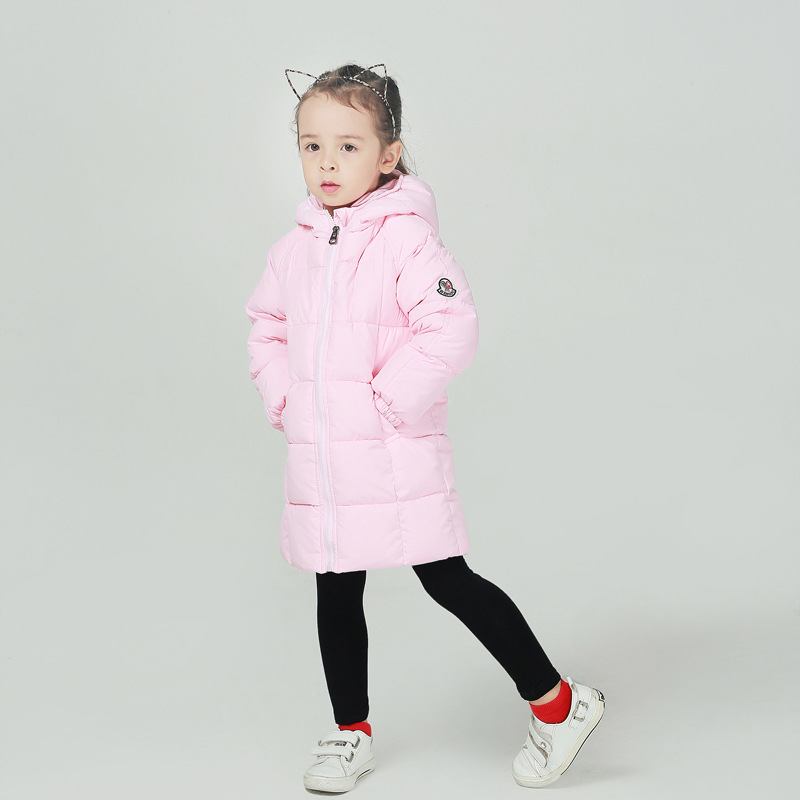 Warm Children Winter Jackets Outwears Autumn Baby Boys Girls Down Hooded Coats Toddler Parka Kids Winter Jacket 1 2 3 4 5 6 Year down children warm coat sporty kids clothes winter jacket for boys girls jackets autumn and winter baby overcoat2 3 4 5 6 7yrs