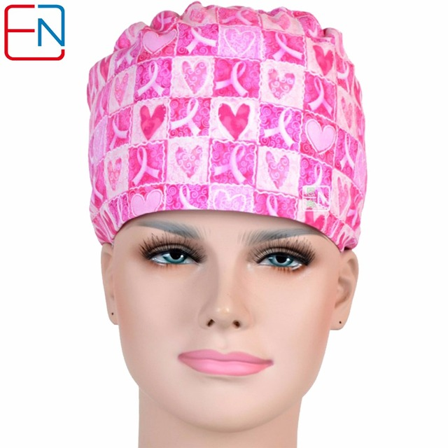 NEW long hair surgical cap doctors and nurses 100% cotton with sweatband e3a4d657b0e1