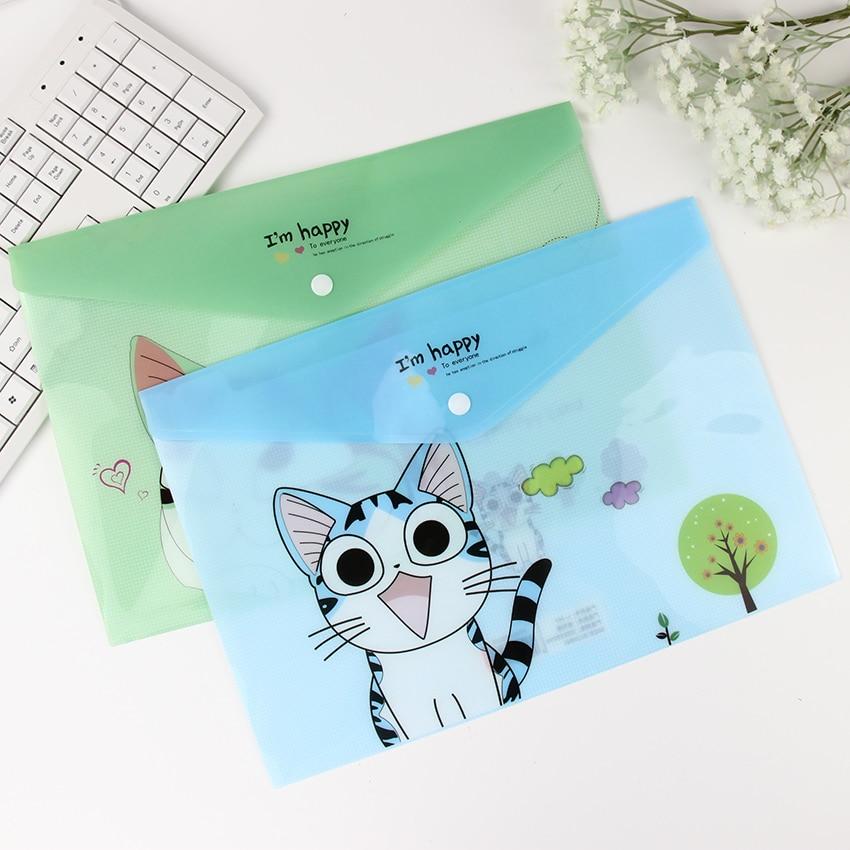 1pc-korean-cute-cheese-cat-file-bag-folder-document-filing-fontbproducts-b-font-kawaii-pvc-a4-statio
