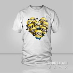 New 2015 minions couple men t shirts cartoon t shirts anime figure despicable me minions clothes.jpg 250x250