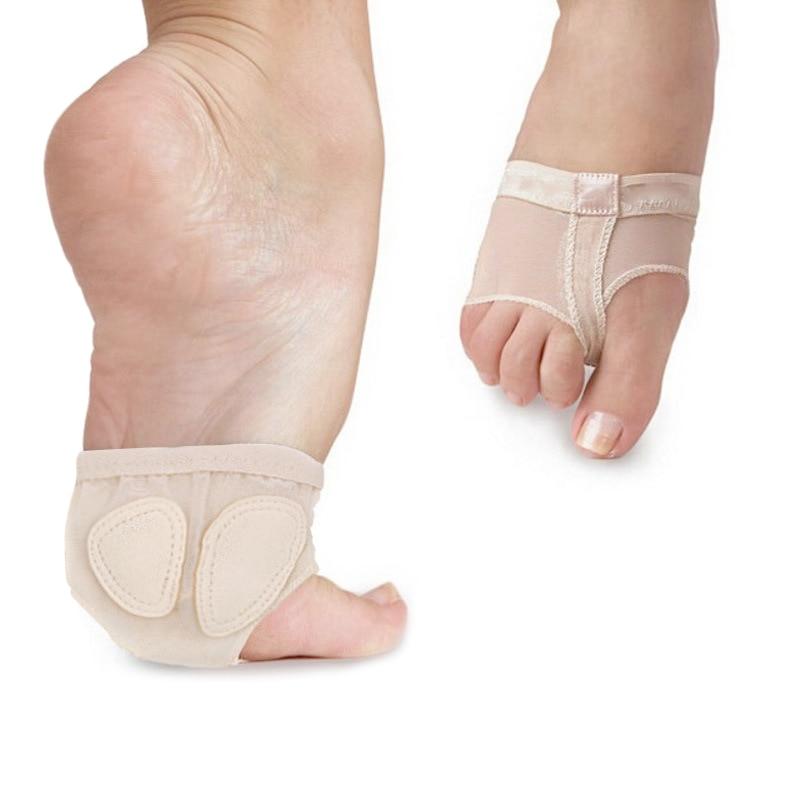 1 Para Weiche Sohle Pfote Ballett Abdeckung Dance Fuß Vorfuß Kappe Füße Schutz Toe Pad Schuhe Lby2018