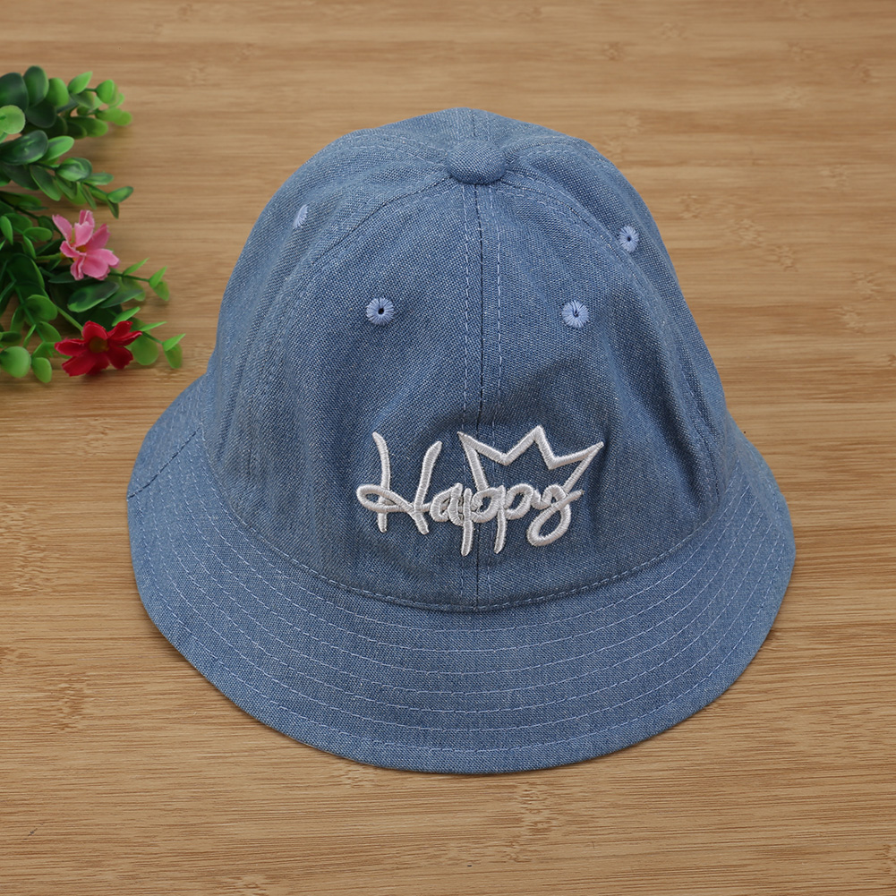c1c7990ffc2 Autumn Winter Baby Girl Hats Newborn Sun Hat Cute Happy Fisherman ...