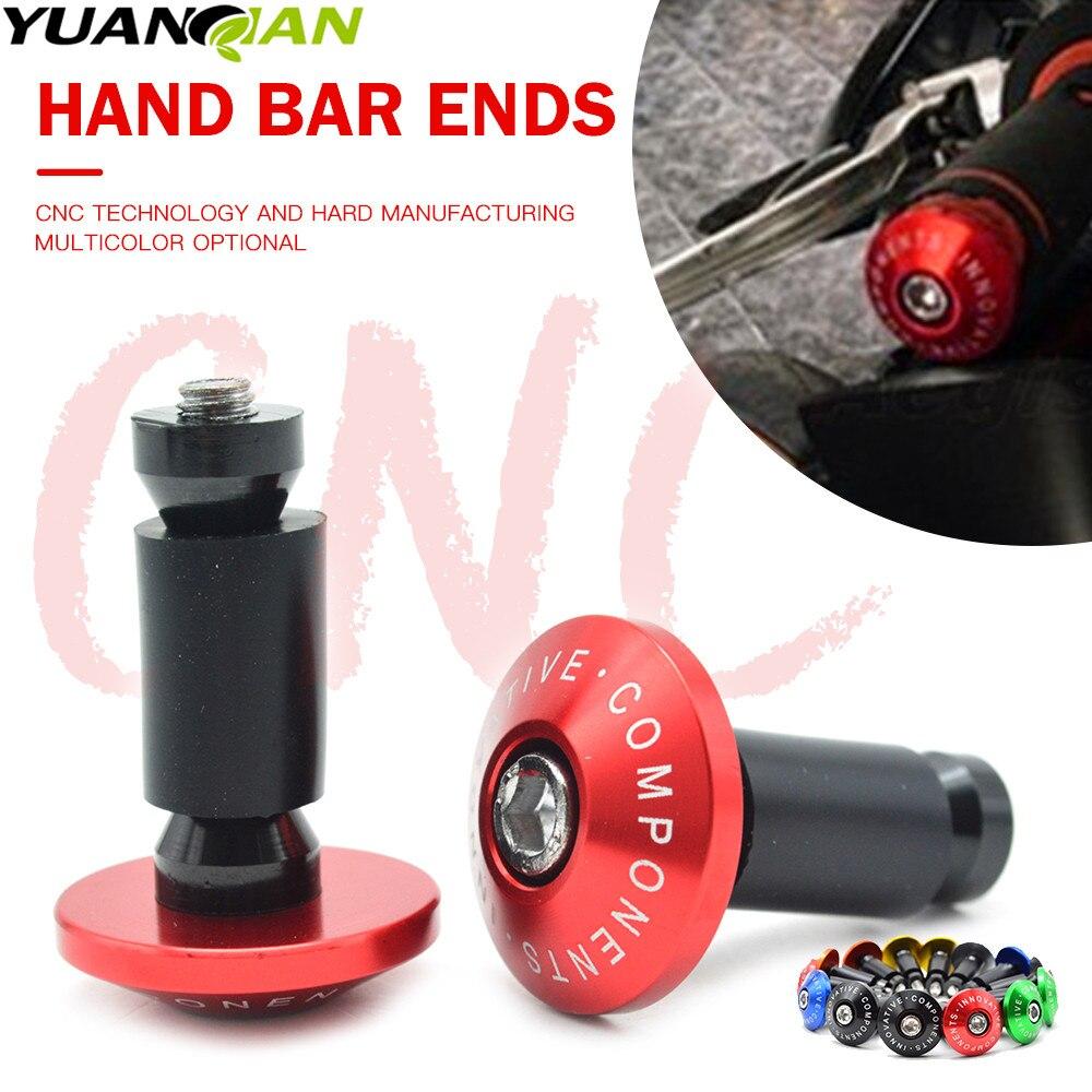 CNC Handle Bar End Fits Suzuki GSX-R GSXR750 2001-2019 2017 Grips Plugs Sliders