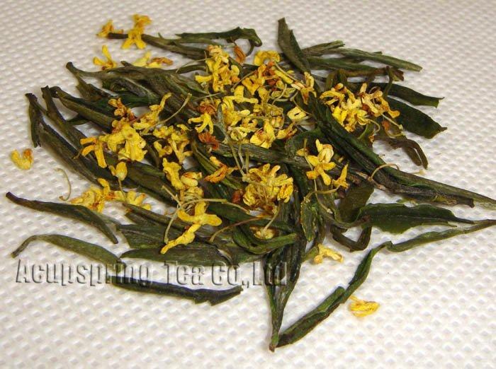 100g Premium Fragrant Osmanthus Anji White Tea, 4oz Anji Bai Cha, Tea,A3CLA02G, Free Shipping 500g 1lb premium jasmine flower anji white tea anji bai cha tea a3cla02m free shipping