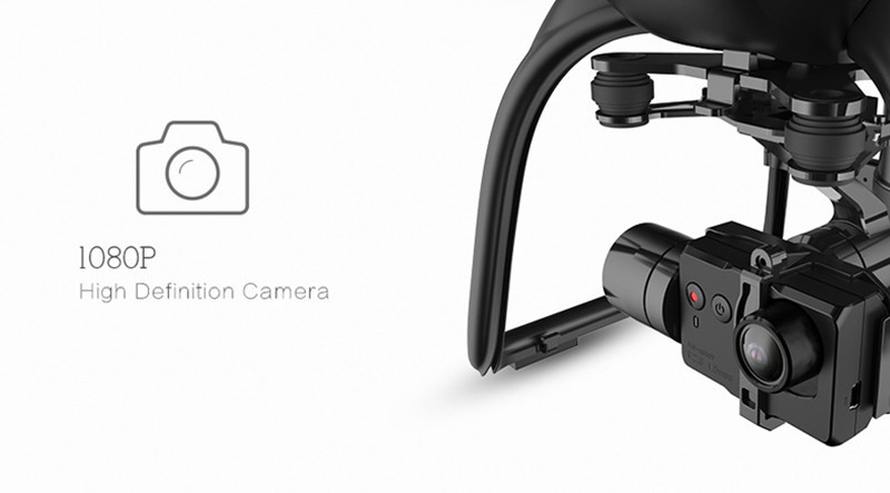 Hubsan X4 Pro H109S Spare Parts 1080P HD Camera For RC Quadcopter Gimbals Accessories RC Models Multicopter Black