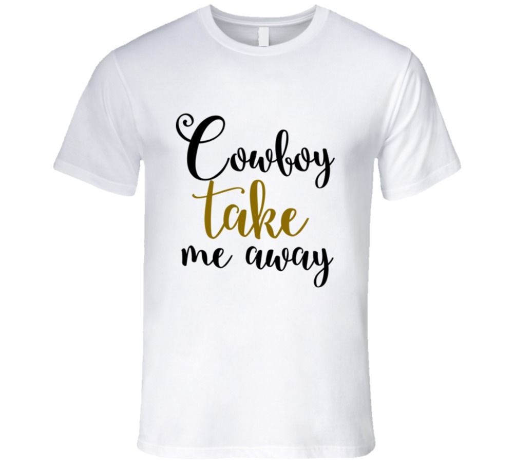 Cowboy Take Me Away Country Song T-Shirt Cool Casual pride t shirt men Unisex New Fashion tshirt free shipping tops ajax image