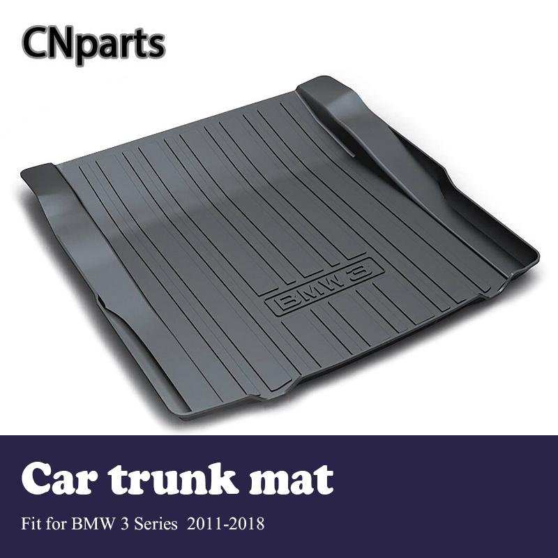 CNparts Car Cargo rear trunk mat For BMW 3 Series F30 F31 F34 2011-2018 Boot Liner Tray Anti Slip and Waterproof Mat accessoriesCNparts Car Cargo rear trunk mat For BMW 3 Series F30 F31 F34 2011-2018 Boot Liner Tray Anti Slip and Waterproof Mat accessories