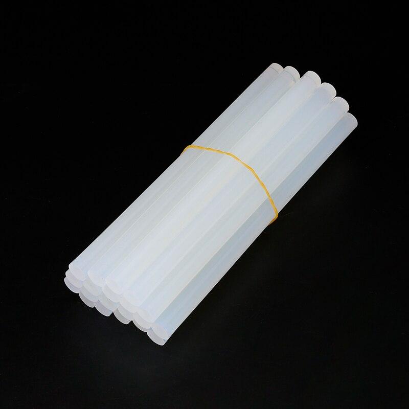 10 unids/lote 20 unids/lote 7mm x 150mm Hot Melt pegamento Sticks para pistola de pegamento eléctrico artesanal álbum herramientas de reparación para accesorios de aleación