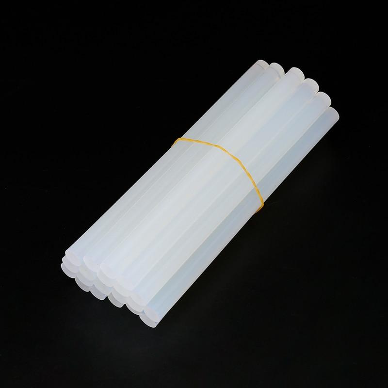 10Pcs/Lot  20Pcs/Lot  7mm X 150mm Hot Melt Glue Sticks For Electric Glue Gun Craft Album Repair Tools For Alloy Accessories