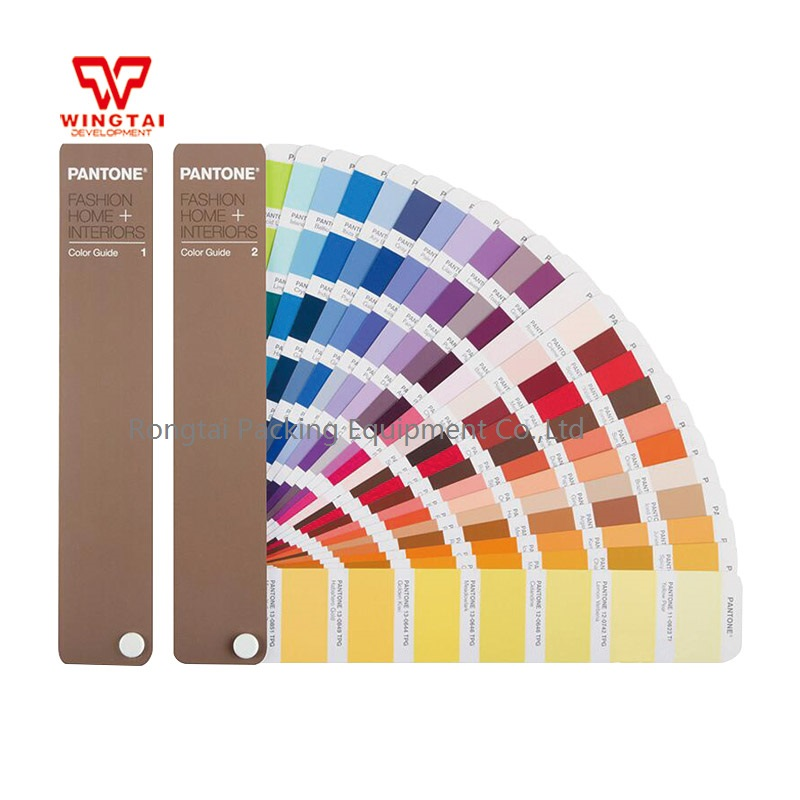 Newest Version Pantone TPG Fashion Home Color Guide FHIP110N For Garments