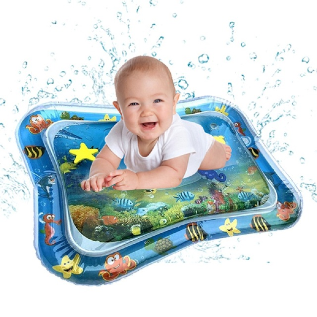 2019 New Baby Inflatable Water Cushion Baby Inflatable Patted Pad Creative Dual Use Toys PVC Material Funny Toy
