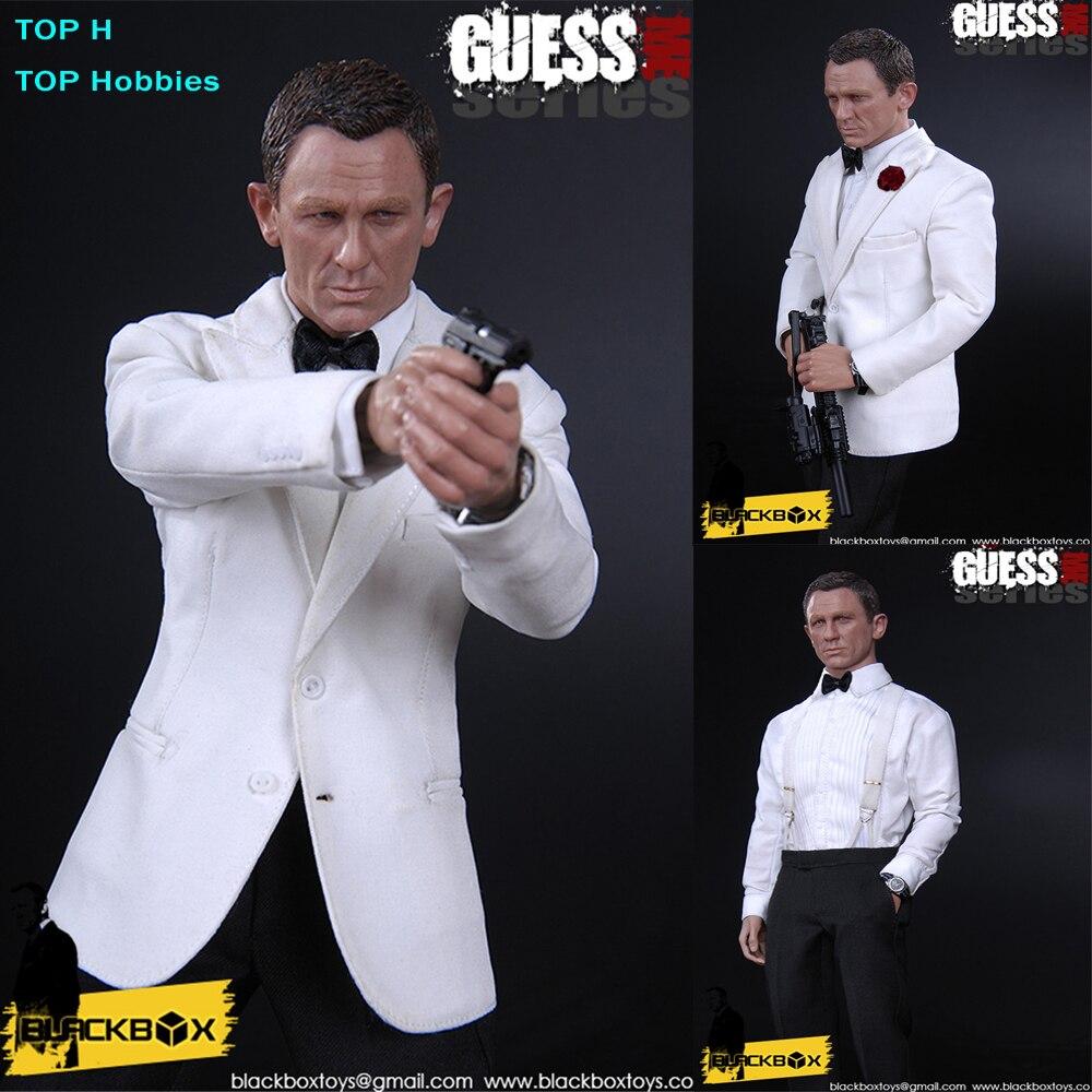 Blackbox Toys BB9003 1/6 Scale 007 Agent James Bond Daniel Craig Ghost Party - Agent James 12 Collectible Action Figure купить водныи велосипед craig cat