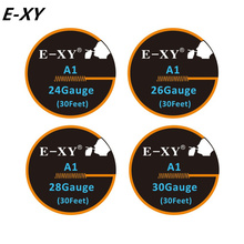 E-XY A1 wire Resistance Wire 10M/ROll for rda rat Electronic Cigarette Heating Wires DIY Vaporizer Coil Tools