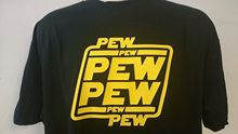 STAR WARS PEW T-SHIRT Free shipping  Harajuku Tops Classic Unique T Shirt