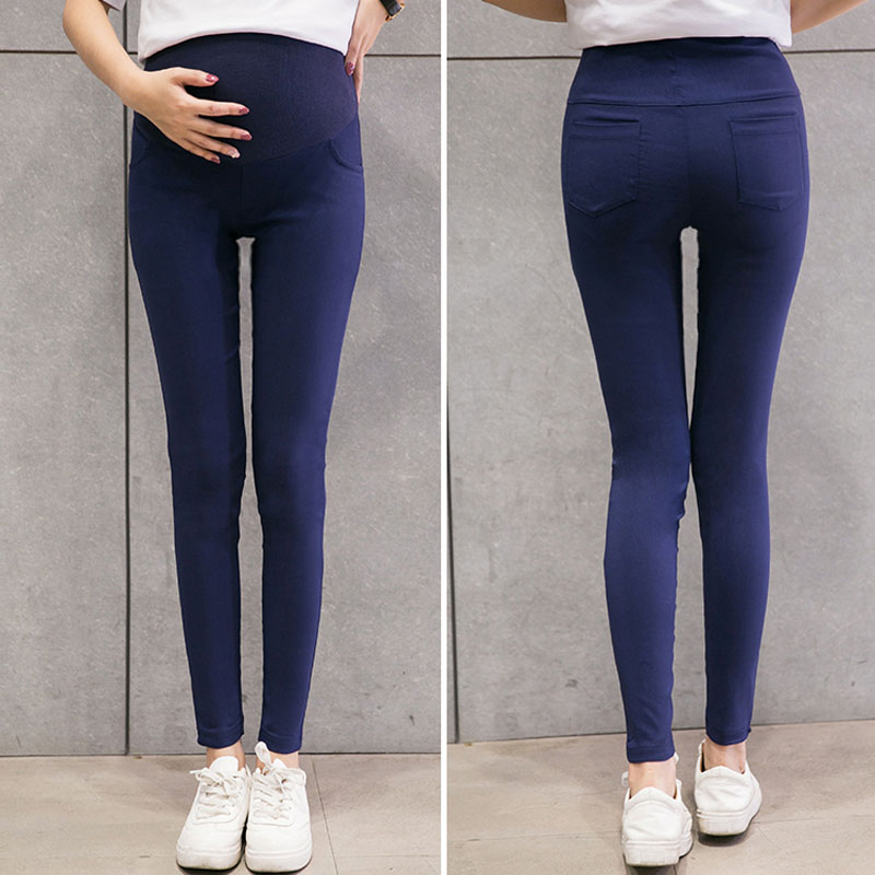 6 Colors Skinny Maternity Pants For Pregnant Women Clothes Stretch Pencil Pants Nursing Leggings Pregnancy Clothing Spring Wear