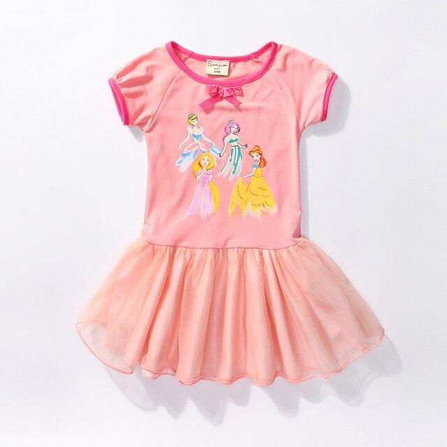 c00ba3d9c43e Elsa Dress Rapunzel Costume Di Natale Ragazza Cinderella Anna Elza Vestito  Delle Ragazze Da Neve Quee