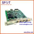 Original 4 ports ZTE 10G uplink board HUTQ for C300 OLT euqipment, with 2 of10G uplink ports and 2 of 1.25G uplik ports