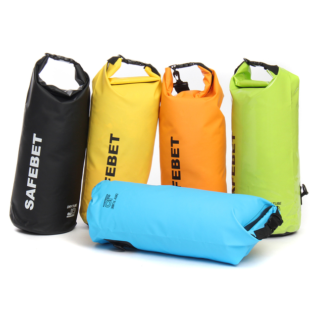aa9ead0f1388 SAFEBET 20L Outdoor Waterproof Dry Carry Bag Backpack For Floating Boating  Kayaking Camping Travel Folding Pouch Swimming Sport