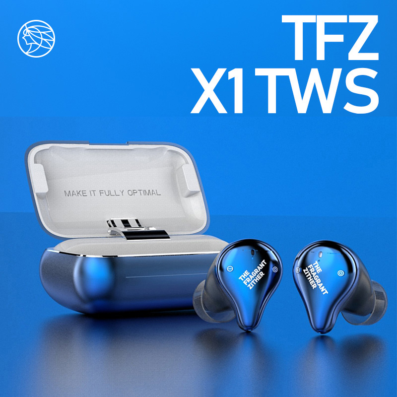 TFZ X1 Bluetooth 5.0 Balanced Armature IPX7 Waterproof Wireless HiFi In-ear Earphone with Charging Box TWS  for iOS Android TFZ X1 Bluetooth 5.0 Balanced Armature IPX7 Waterproof Wireless HiFi In-ear Earphone with Charging Box TWS  for iOS Android