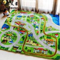 Kingart мультфильм большой коврик для йоги напольный коврик для детей для детской комнаты толстый меховой коврик для Спальня ковры и коврики д
