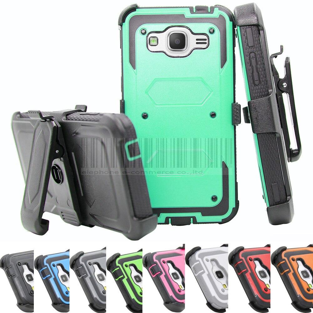 Funda de armadura a prueba de golpes resistente con cubierta de clip - Accesorios y repuestos para celulares - foto 1