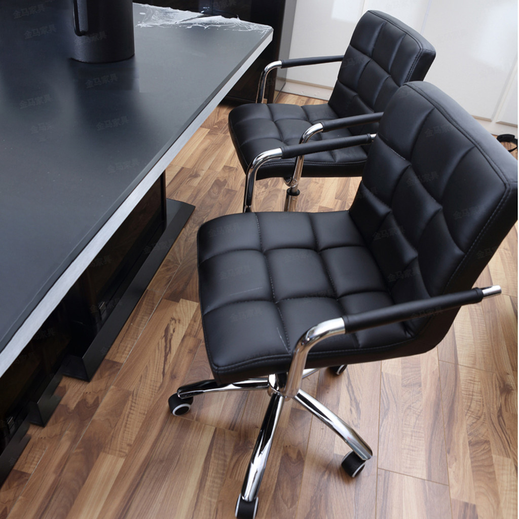 Stool Chair Styling Office-Work Fashion Black Pulley Salon Beauty Casual Cotton.