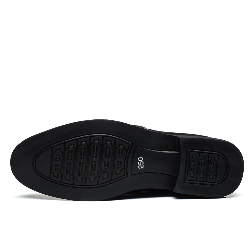 Hei Bottes Qualité Casual Haute zong Printemps D'affaires Zip Véritable Weideng En Oxford Mode Doux Cuir Berathable Appartements Chaussures Hommes 4EWPTAwq
