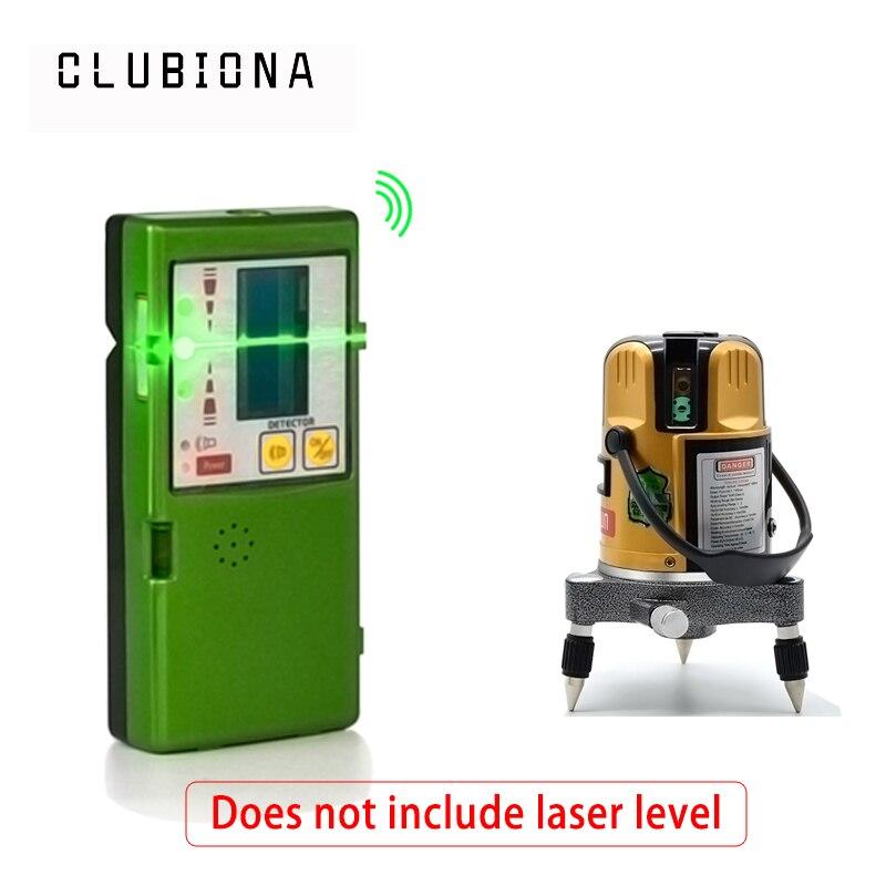 Vert Laser niveau/Ligne laser/construction niveau/Niveau Infrarouge/croix niveau Laser de ligne récepteur OU détecteur