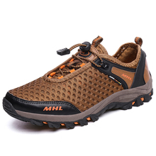 Air Mesh Breathable Hiking Shoes Men Outdoor Climbing Sneakers Mens Classic Sports 2017 New Hot Boots