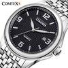 Comtex New Brand Men S Watch Alloy Wrist Watch Analog Display Quartz Movement Waterproof Calendar Mens