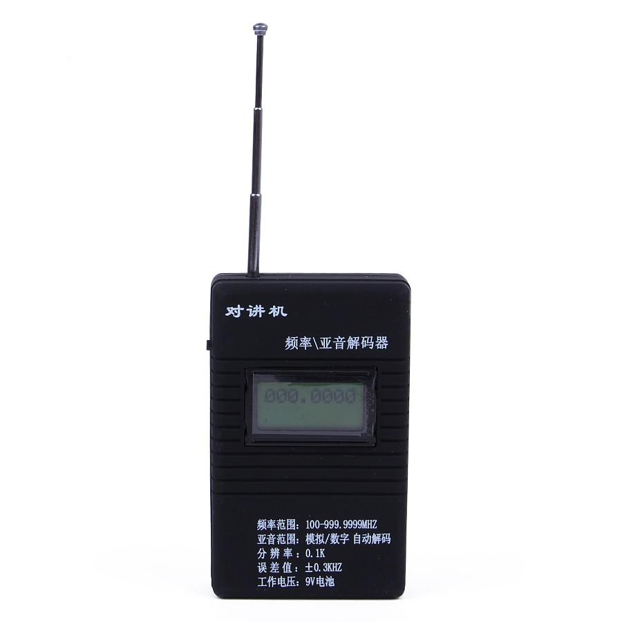 Exakt RK560 50 MHz-2,4 GHz bärbar handhållen DCS CTCSS-radiostest för 2-vägs radio