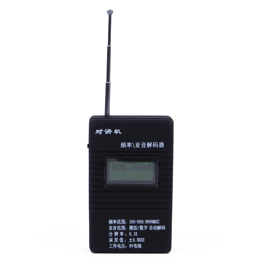 Nøyaktig RK560 50 MHz-2,4 GHz bærbar håndholdt DCS CTCSS-radiotest for 2-veis radio