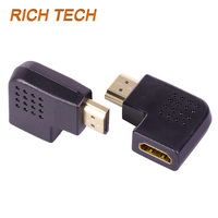 2pcs HDMI plug to HDMI female jack for HDTV/HDMI cable/HD players computers projectors connector HDMI connector adaptors