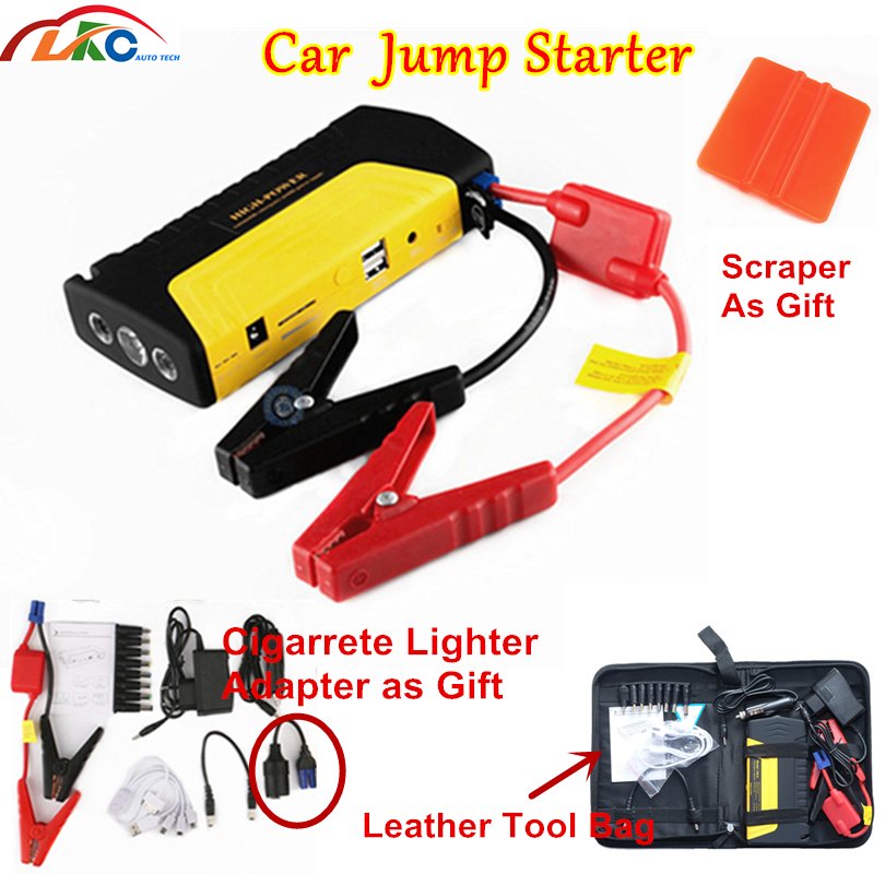 Booster Battery Car-Starter Emergency-Starting-Device High-Power 50800mah for Gasoline/diesel