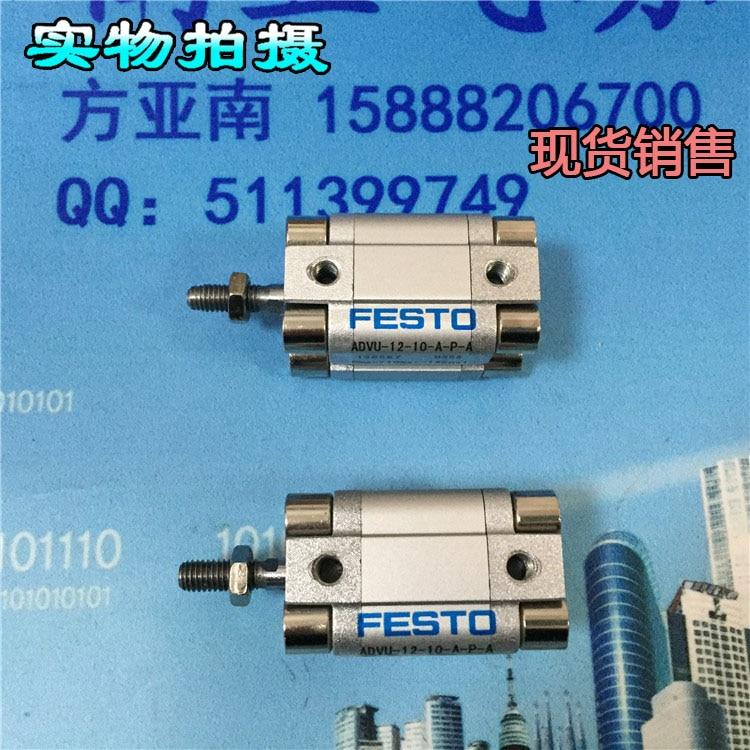 ADVC-12-5-A-P-A ADVC-12-10-A-P-A ADVC-12-15-A-P-A Пневмоинструмент FESTO Короткие-ход цилиндра