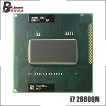 Intel Core i7-2860QM i7 2860QM SR02X 2.5 GHz Quad-Core Acht-Draad CPU Processor 8M 45W socket G2/rPGA988B