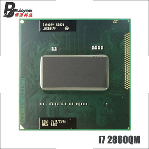 Intel Core i7-2860QM i7 2860QM SR02X 2.5 GHz Quad-Core Eight-Thread CPU Processor 8M 45W Socket G2 / rPGA988B