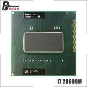 Intel Core i7-2860QM i7 2860QM SR02X 2.5 GHz Quad-Core Eight-Thread CPU Processor 8M 45W Socket G2 / rPGA988B