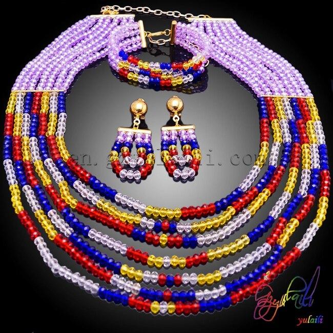 Yulaili New Wholesale Jewelry Set Fashionable Women Find Beaded Jewelry SetYulaili New Wholesale Jewelry Set Fashionable Women Find Beaded Jewelry Set