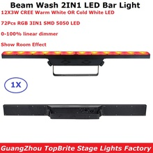 LED Wash Beam Light 12X3W CREE LEDS Warm White DMX Bar Lights Indoor Use Running Horse Functions DMX512 Good Effect DJ Equipment цена 2017
