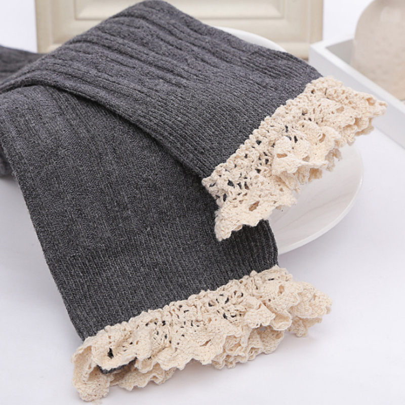 Knee Lace Natural Warmer