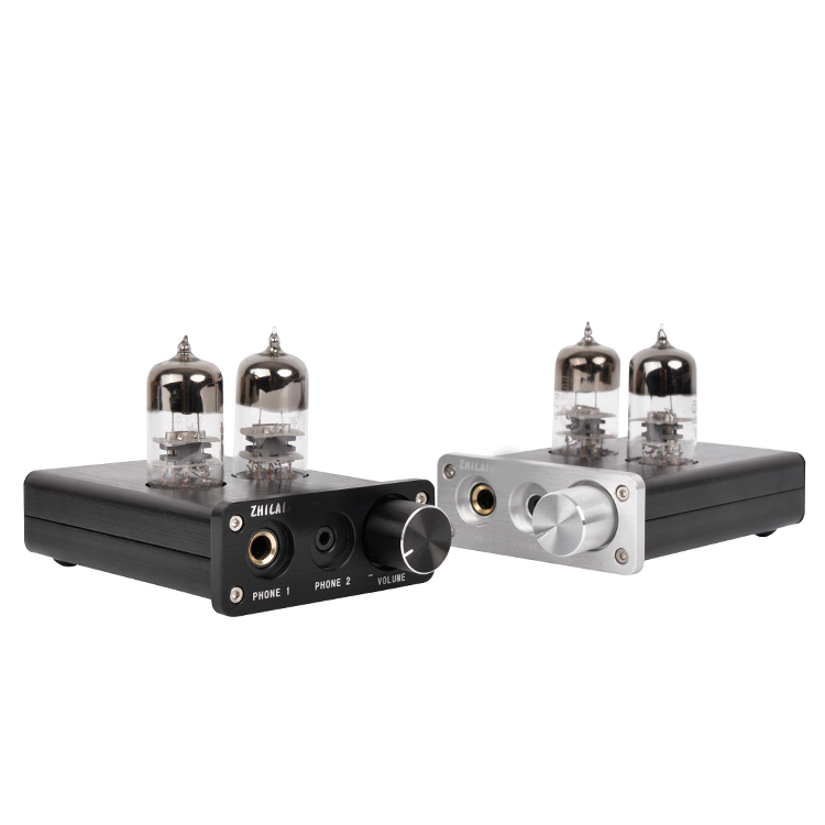 M1 HiFi sound quality Tube Headphone Amplifier Support USB audio decoding Tube Preamplifier 3206 amplifier aluminum rounded chassis preamplifier dac amp case decoder tube amp enclosure box 320 76 250mm